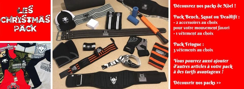 idée cadeaux vêtements et accessoires de sport : musculation, powerlifting, crossfit...