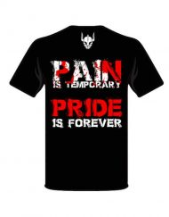 tshirt pain is temporary pride is forever motivation