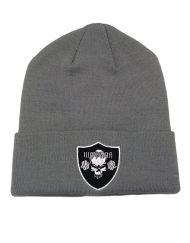 bonnet musculation - bonnet sport - bonnet gris