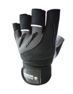Gants de musculation Warrior - Gant de muscu - Gant fitness - Paire de gants