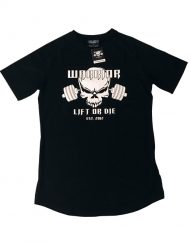 t-shirt musculation noir lift or die