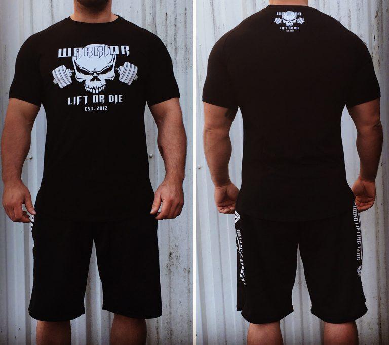 tshirt bodybuilding lift or die