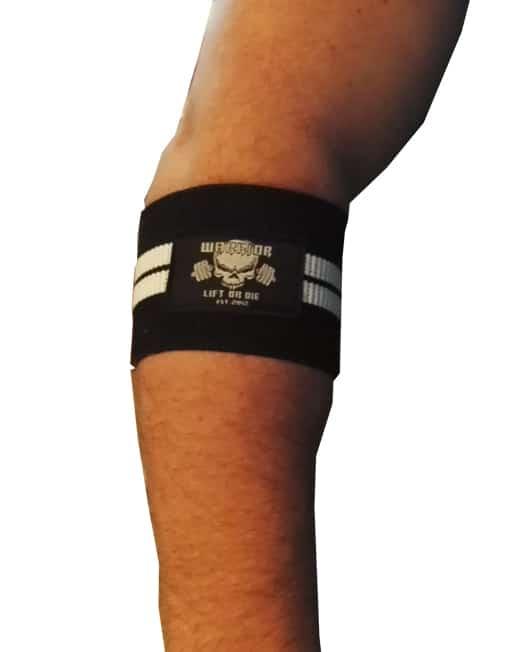 bande de compression contre les tendinites et tennis elbow. Black Bedroom Furniture Sets. Home Design Ideas