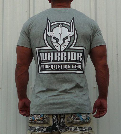 tshirt crossfit gris - tshirt powerlifting gris