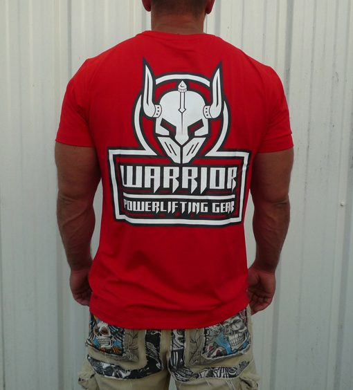 tshirt crossfit rouge