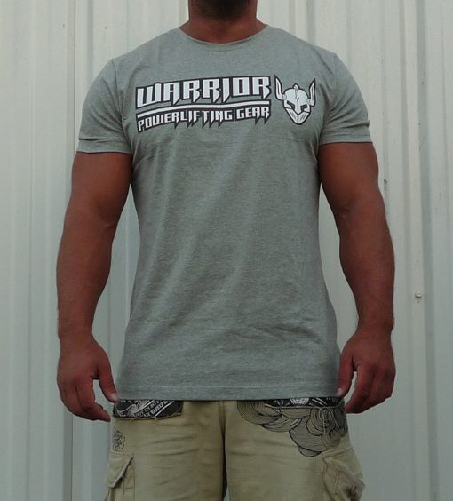 tshirt gris musculation homme