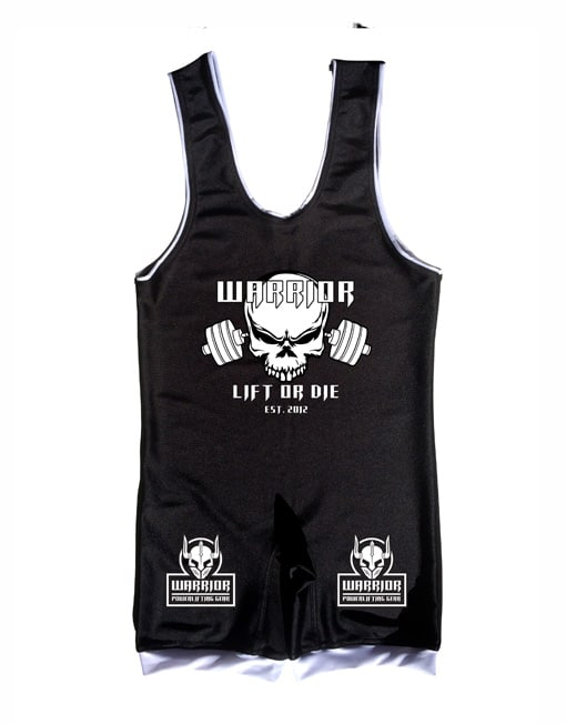 singlet powerlifting personnalisable