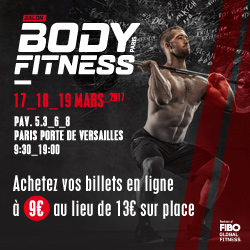 Salon bodyfitness 2017 warrior gear le programme des for Salon du fitness palexpo