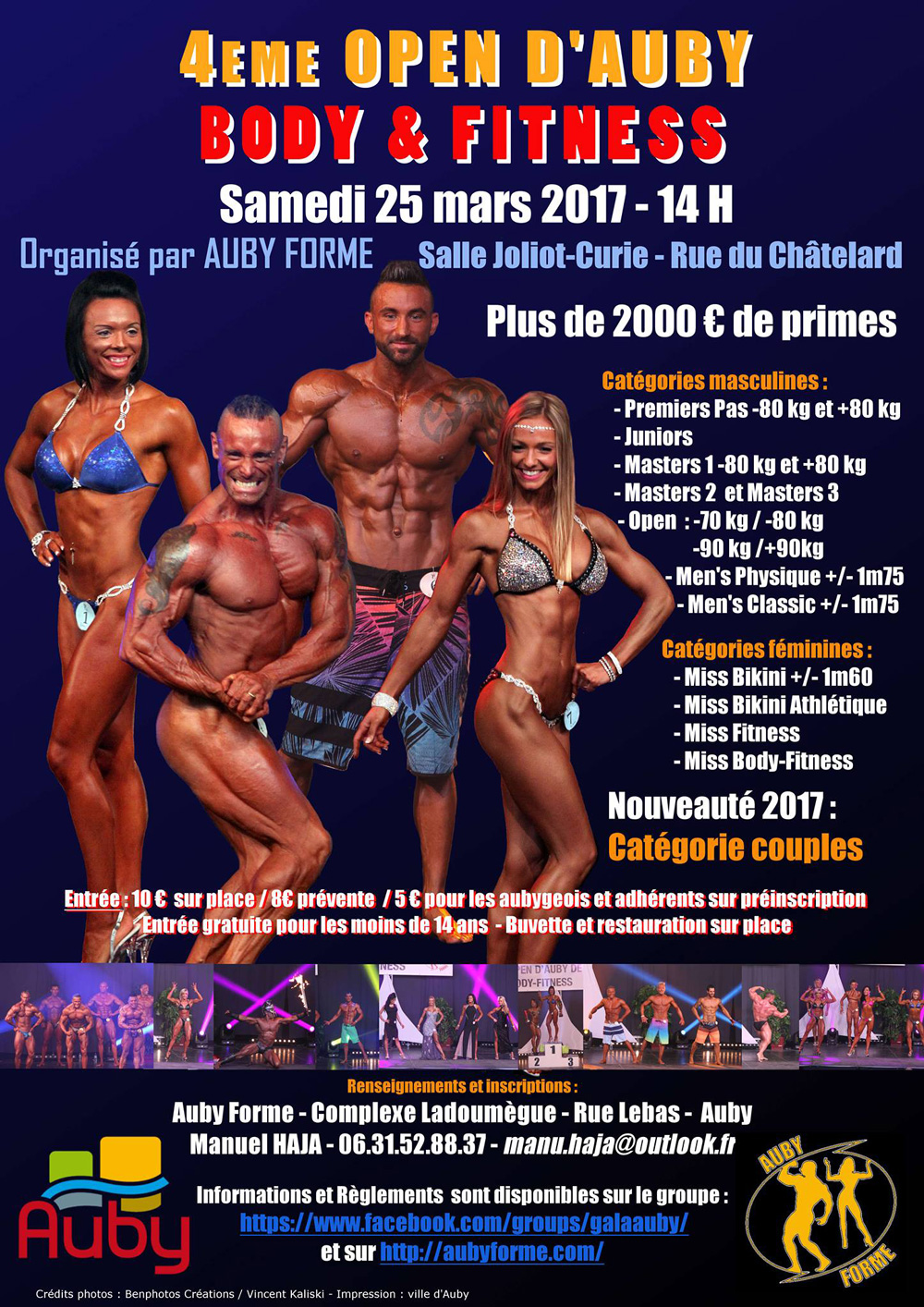 open auby 2017 bodybuilding warrior gear