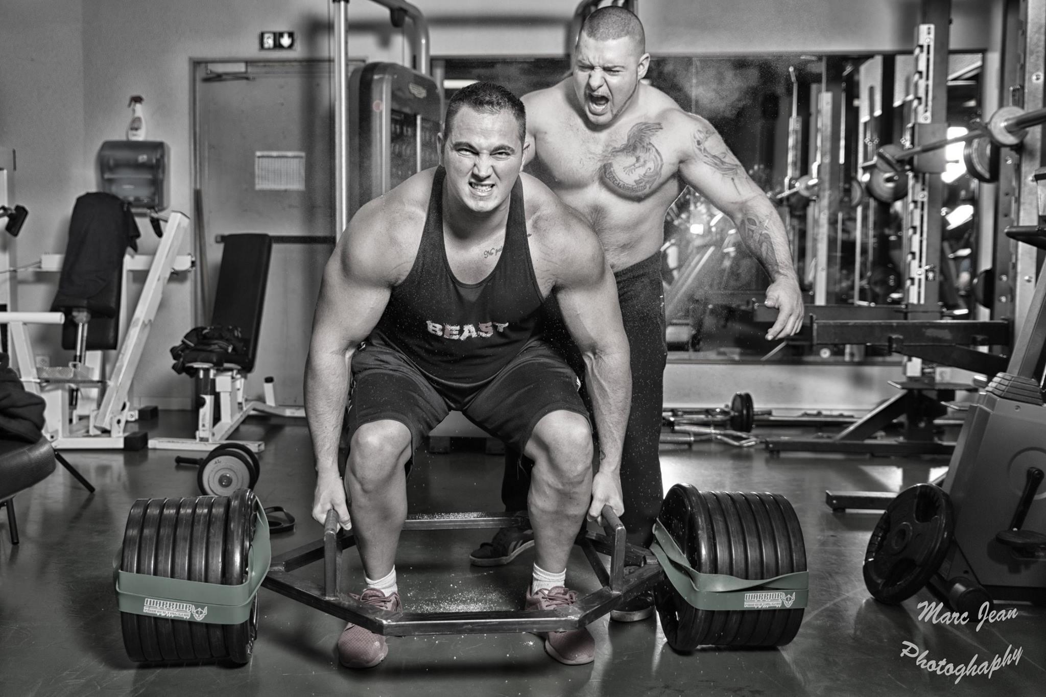 alexandre hulin powerlifter warrior powerlifting gear