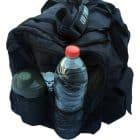 sac sport poche shaker bouteille d'eau - sac musculation