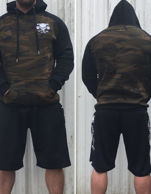 sweat muscu warrior camouflage sport