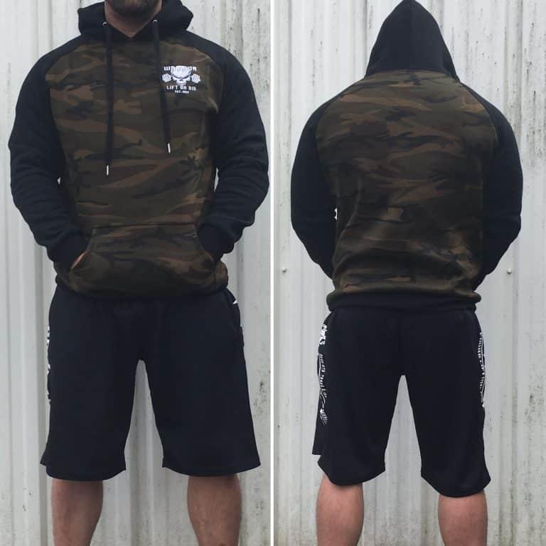 sweat muscu warrior camouflage sport