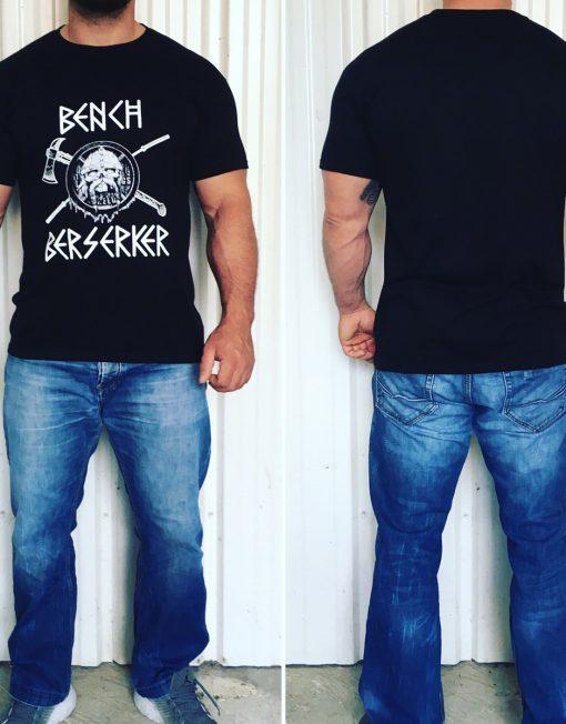 t-shirt bench berserker - tshirt baptiste deodati