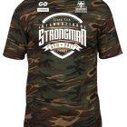 Tshirt Camouflage Strongman - Tshirt muscu camouflage