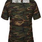 tshirt sport camouflage personnalise