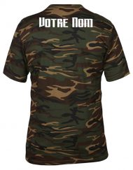 tshirt sport camouflage personnalise