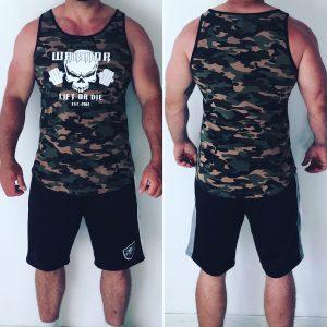 debardeur camouflage bodybuilding musculation