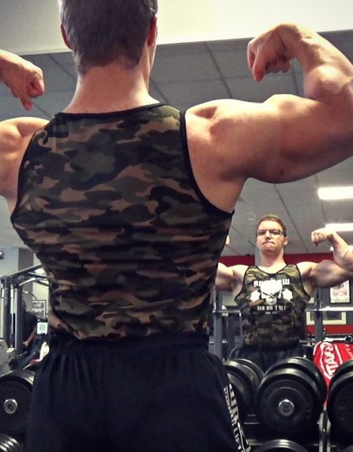 debardeur musculation bodybuilding - Jean Onche Le Musclay