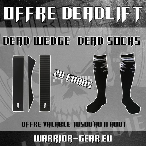 Pack Deadlift - Promo Deadlift Wedge + Chaussette de soulevé de terre