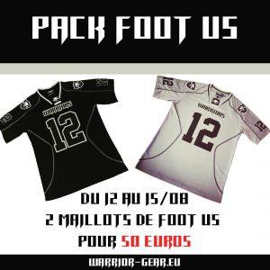 pack foot us - vetement de sport