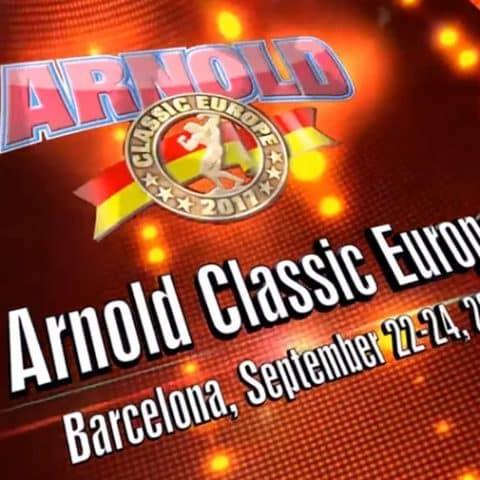 Warrior Gear Arnold Classic Barcelone 2017