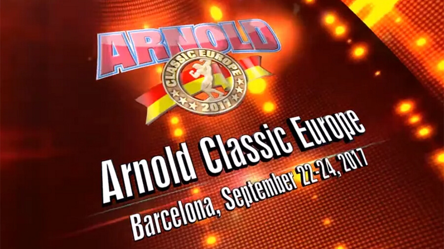 Warrior Gear Arnold Classic Barcelone 2017