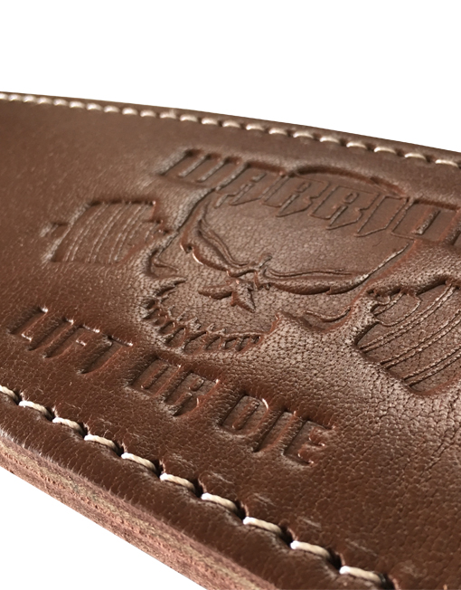 ceinture cuir warrior gear - ceinture de musculation haut de gamme