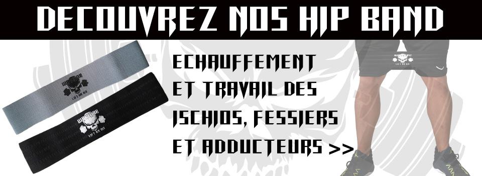 HIP BAND : Programme entraînement Fessiers, Ischios et Adducteurs