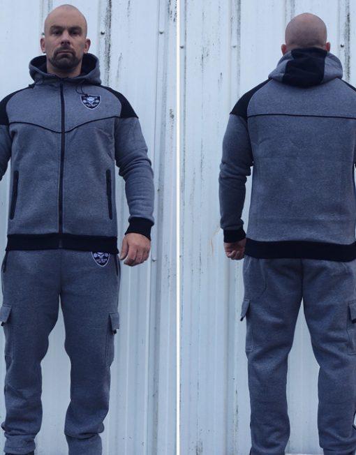 jogging sport musculation - pantalon de sport gris
