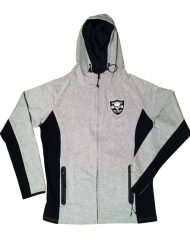 sweat capuche zip muscu - Warrior Gear