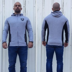 sweat musculation - sweat capuche zippé homme