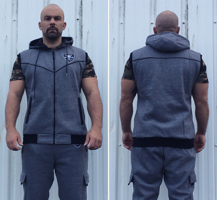 sweat sans manche musculation et bodybuilding