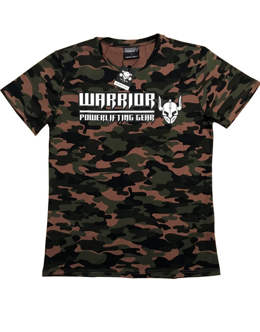 tshirt camouflage warrior gear v tement pour la. Black Bedroom Furniture Sets. Home Design Ideas