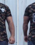 tshirt camouflage warrior - tshirt militaire sport