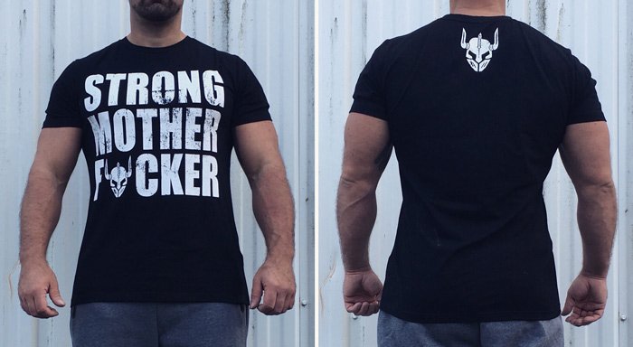 tshirt strong motherfucker - tshirt bodybuilding