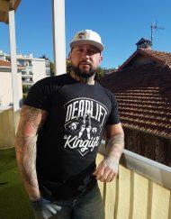 tshirt deadlift - joe rossi - warrior gear