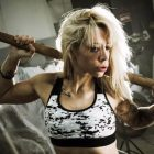 brassiere femme militaire fitness