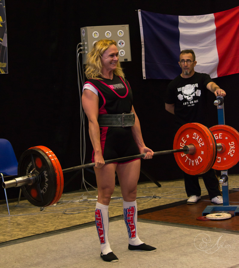 Sandrine Platel - Athlete Warrior Gear
