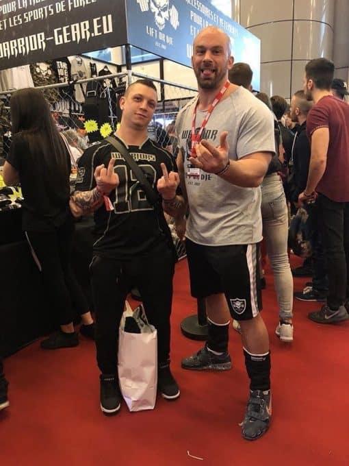warrior gear ragtop - tshirt musculation hardcore