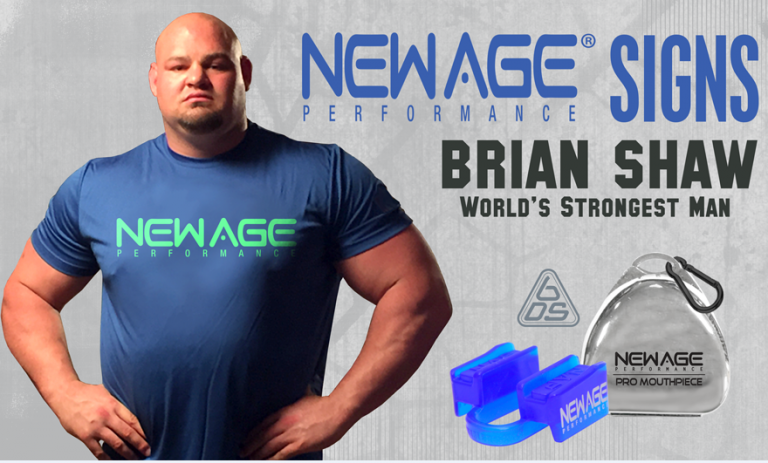 Brian Shaw Worlds Strongest Man - new age 6DS