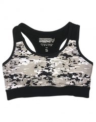 brassiere fitness camo digital - brassiere femme musculation