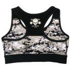 brassiere musculation femme camo - brassiere femme fitness
