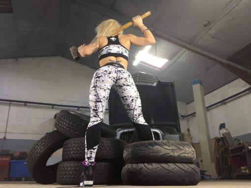 ensemble femme fitness musculation warrior