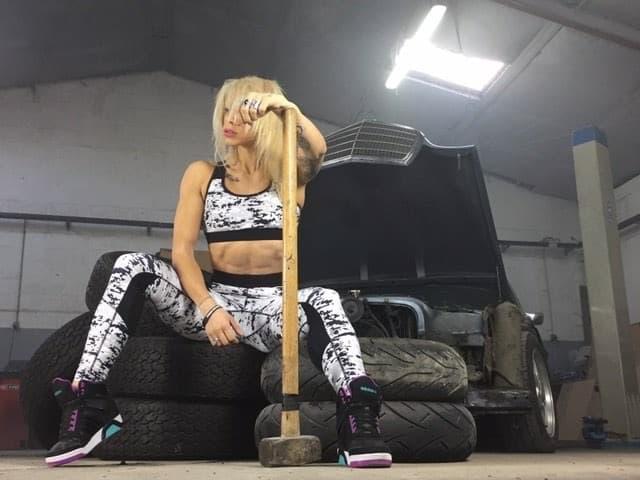 vetement fitness femme - gilliane bance