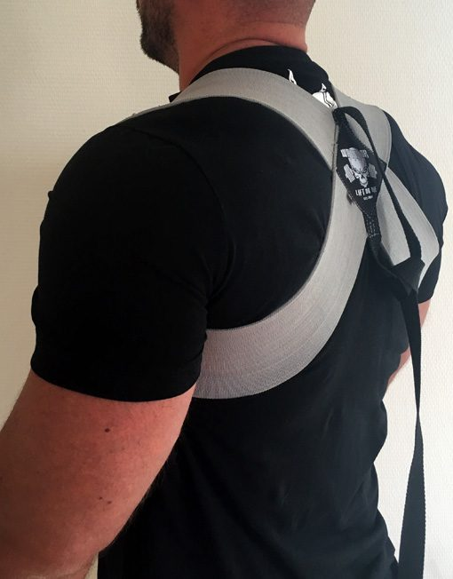 power back brace warrior gear -