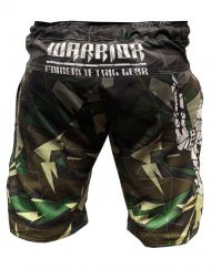 fight short musculation warrior - short camouflage muscu