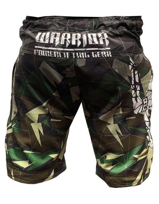 fight short musculation warrior - short camouflage muscu