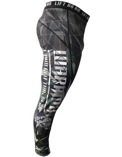 legging muscu homme camouflage