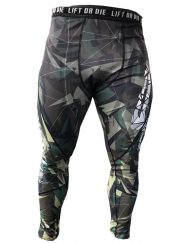 legging musculation homme camo